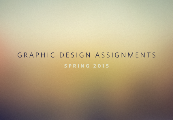 Graphic Design Assignments